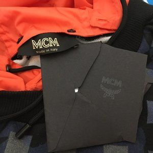 MCM Jackets & Coats - MCM Man Hooded Sweat Shirts Black Grey Color DM7